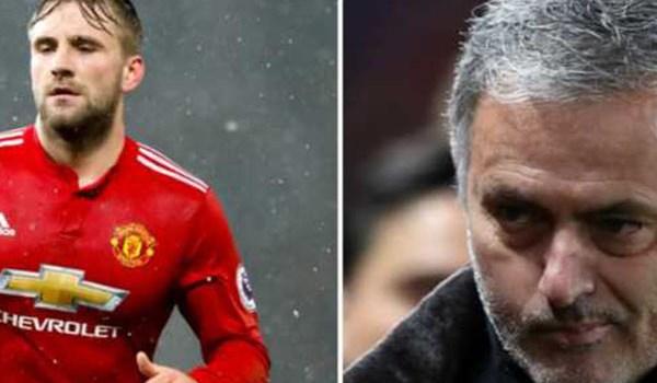 Manchester United Marah Pada Jose Mourinho Karena Luke Shaw