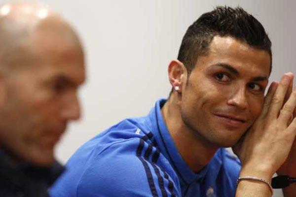 Penjelasan Zinedine Zidane Tentang Cedera Cristiano Ronaldo