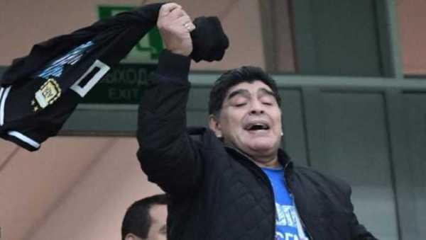 Diego Maradona Minta Bertemu Skuad Argentina Jelang Kontra Nigeria