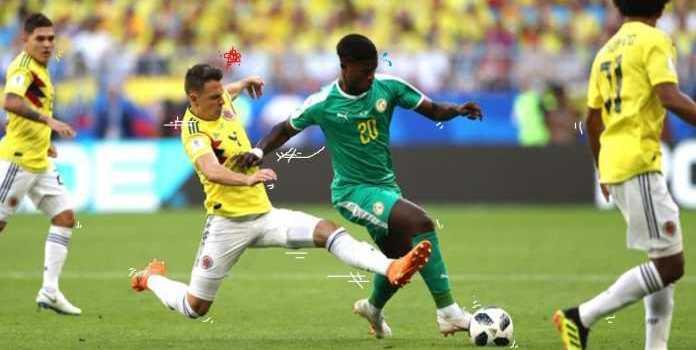 Laporan Pertandingan Sepakbola Timnas Senegal VS Timnas Kolombia