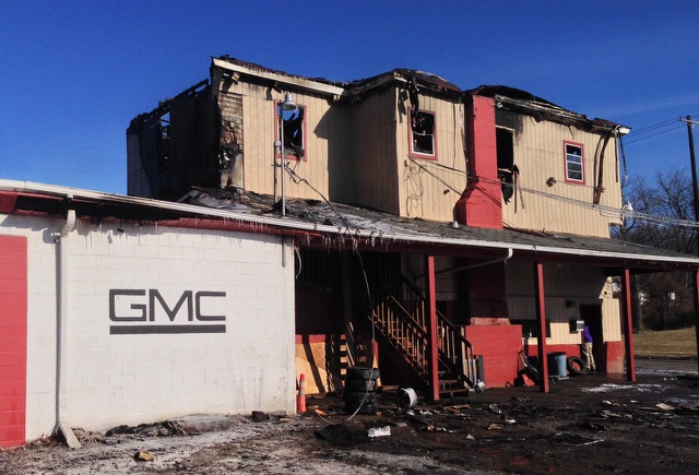 Business suffers major loss following overnight fire_35876