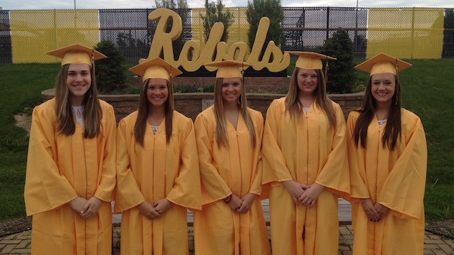 Crestview High School valedictorians 2015_41675
