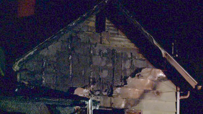 3-year-old rescued from burning Sharon home_48462