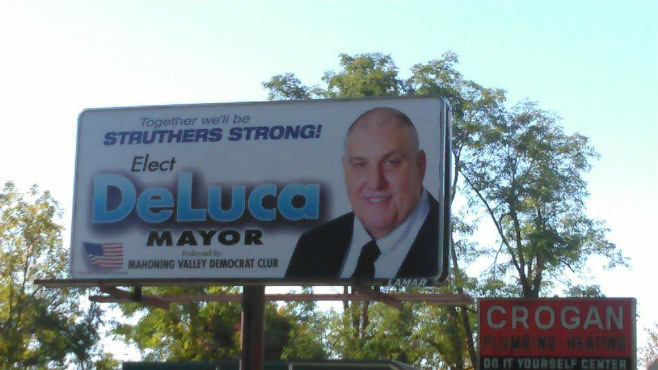 Billboard for Struthers mayoral candidate fixed_55510