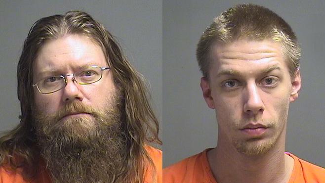 Tod Caldwell and Adam Hayes._79407