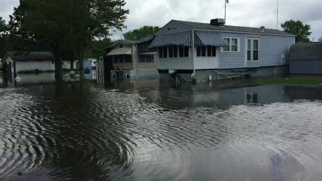 Plantation Park flooding_126318