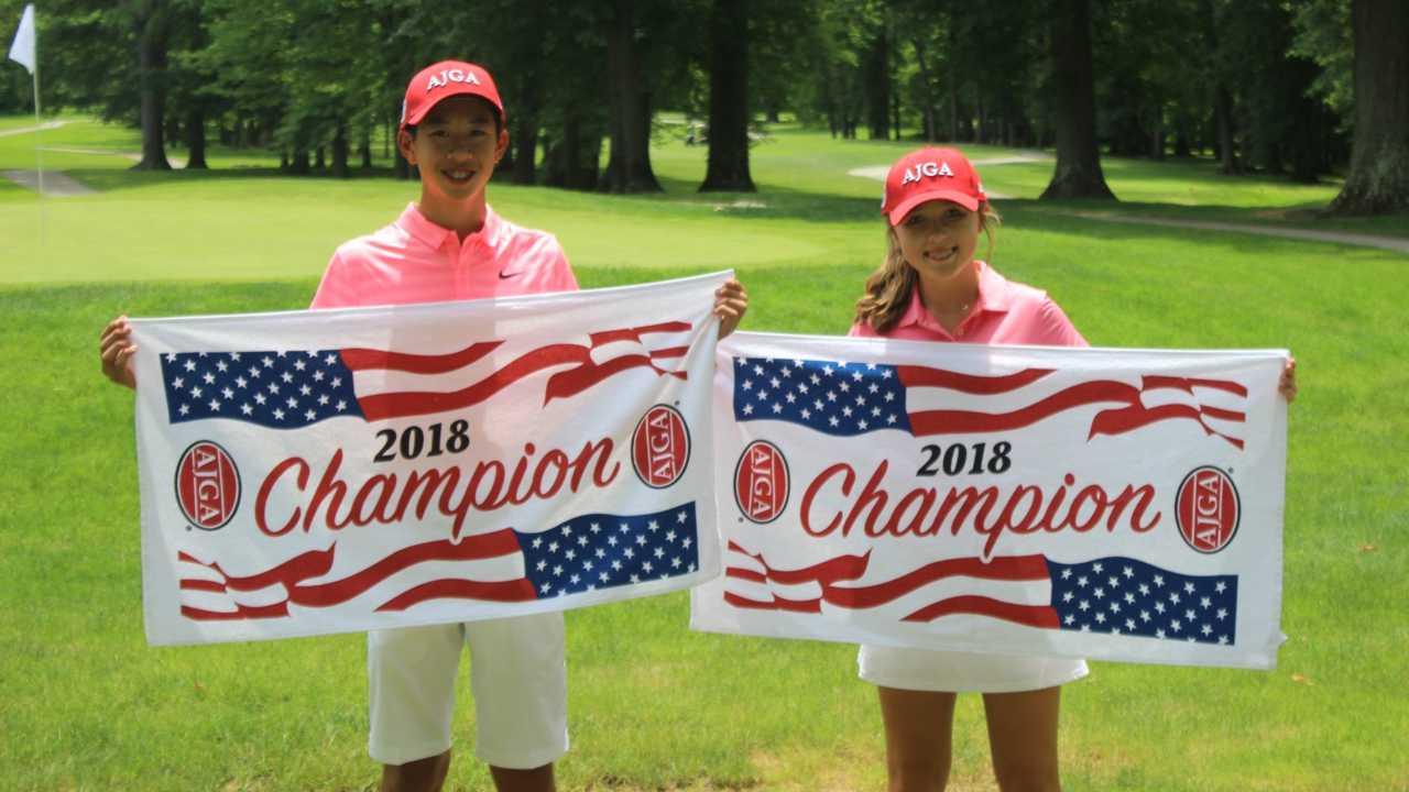 Aidan Tran, Sophie Linder, American Junior Golf Association-873777806
