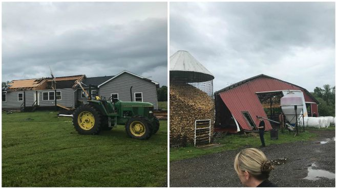 Geauga County storm damage