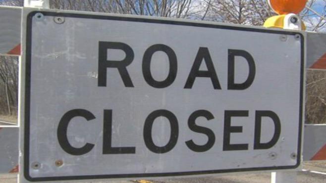 Road closed--873777806