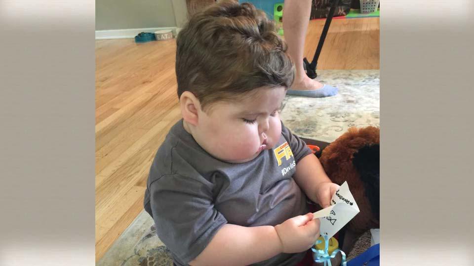 Devin Kirtley, Canfield boy battling cancer.