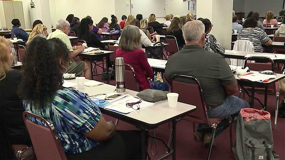 Protecting the vulnerable is the goal of dozens who attended a domestic violence conference in Trumbull County on Friday.
