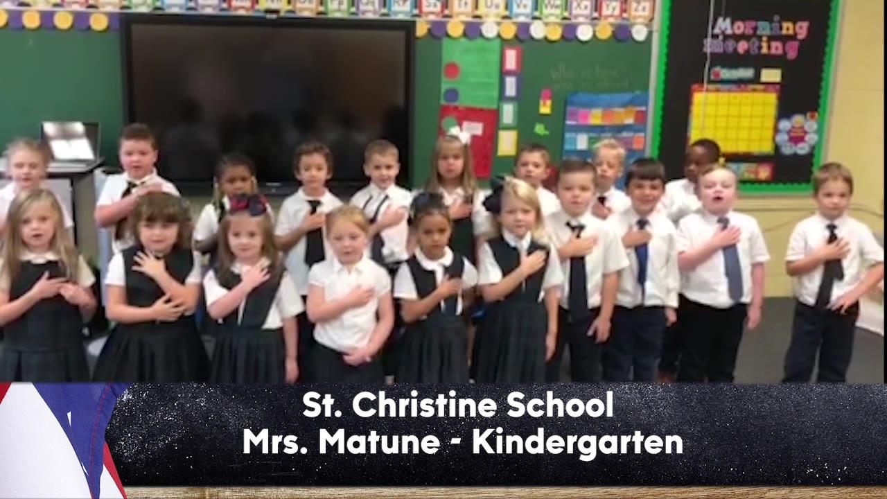 St. Christine School - Mrs. Matune - Kindergarten