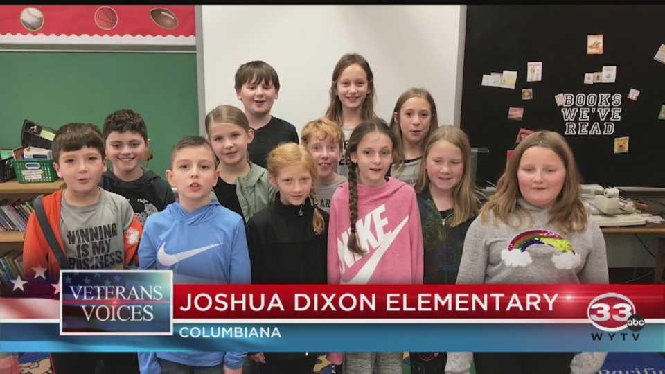 Veterans Day at Joshua Dixon Elementary in Columbiana