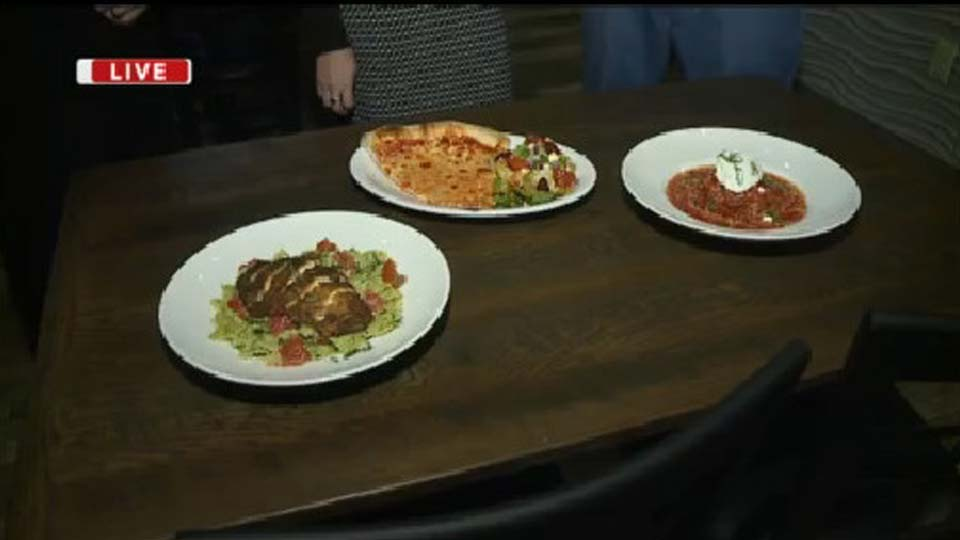 About a month ago, a new restaurant opened in Howland. It's called Red Plum Pizza and Pasta show off their Italian inspired dishes