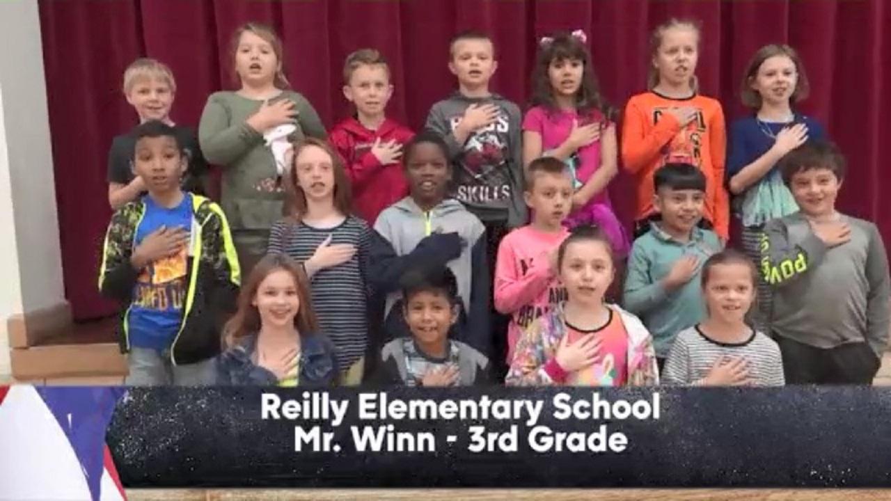 Reilly Elementary - Mr. Winn - 3rd Grade