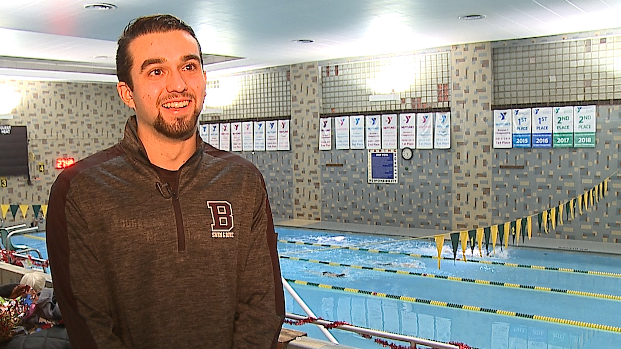 The Boardman senior is a 1st Team All State and two-time All American swimmer, who leads his class with a 4.0 GPA
