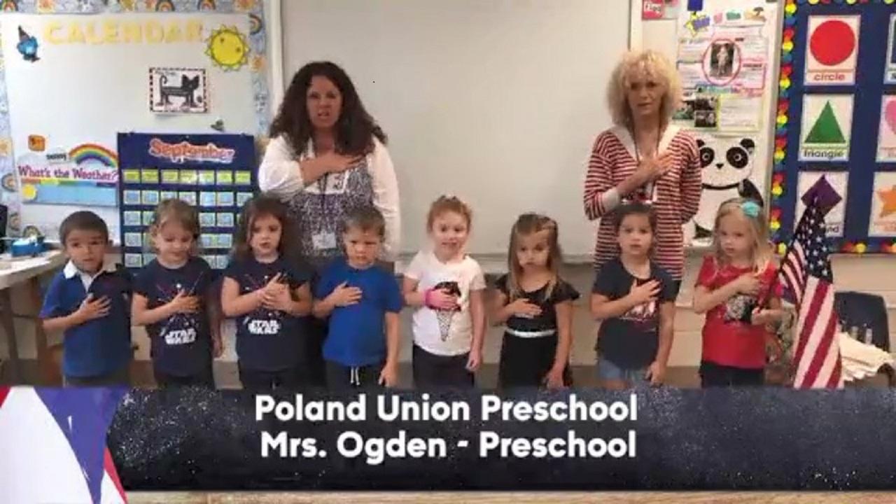 Poland Union Preschool - Mrs. Ogden - Preschool