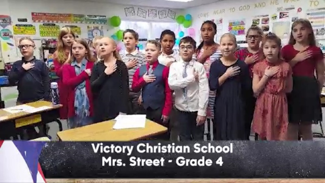 Victory Christian School - Mrs. Street - 4th Grade