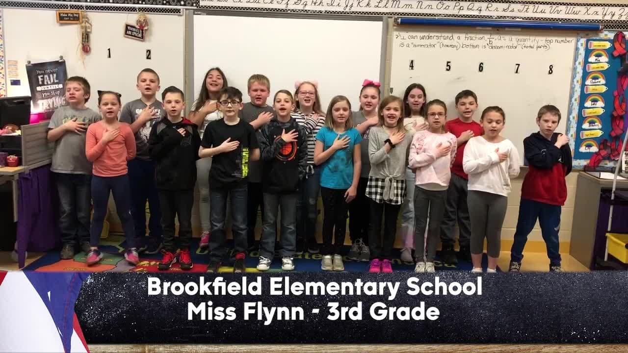 Brookfield Elementary - Miss Flynn - 3rd Grade