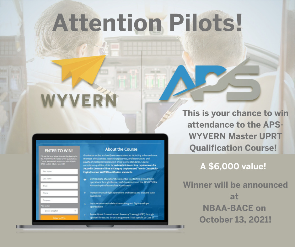 Attention Pilots! You have to enter to win!