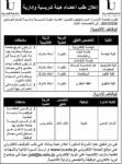 إعلان توظيف صادر عن جامعة الإسراء