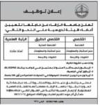 إعلان وظائف شاغرة صادر عن جامعة الزرقاء