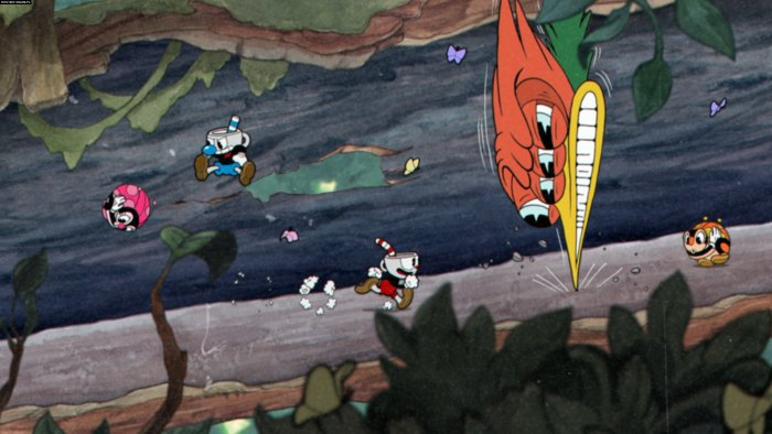 Cuphead action game