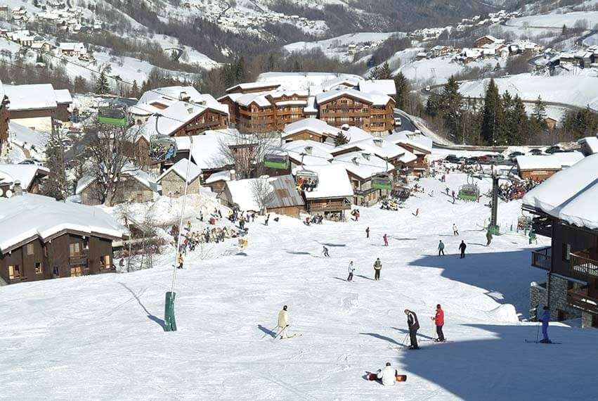 Gratis wintersport appartement in la Foret Valmorel