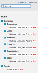 Chatter Publisher Actions (Part 2): Object Custom Action
