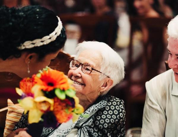 abuelos en las bodas