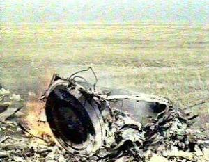 The remains of Soyuz 1