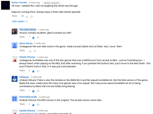 The beginnings of a total Youtube Comment hijacking. Quite annoying.