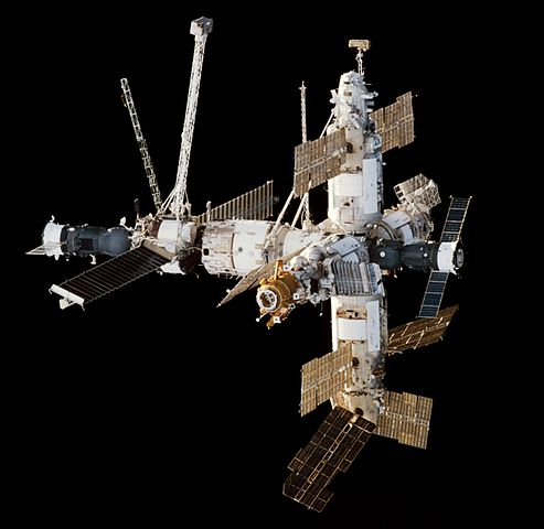 The Russian Space Station Mir