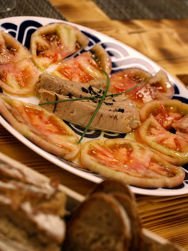 Ensalada de Ventresca con Tomate