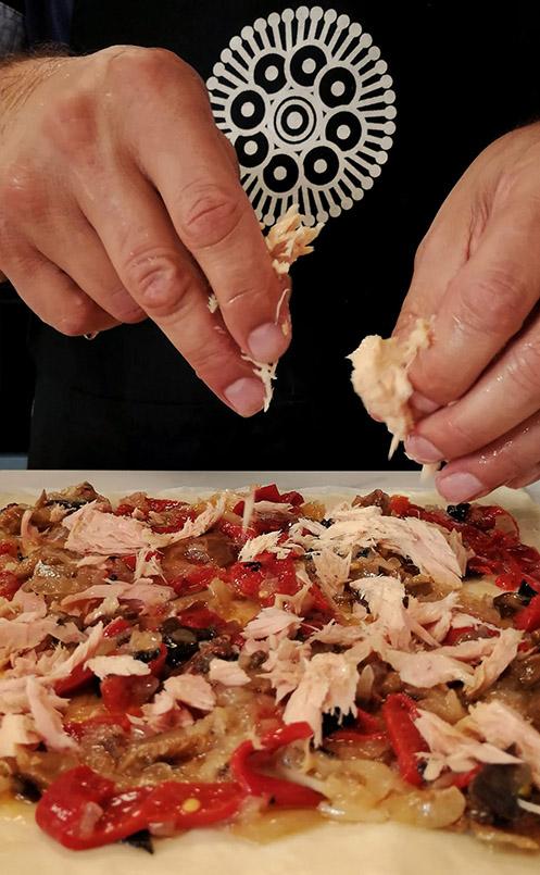Empanada Gallega de Bonito y Setas