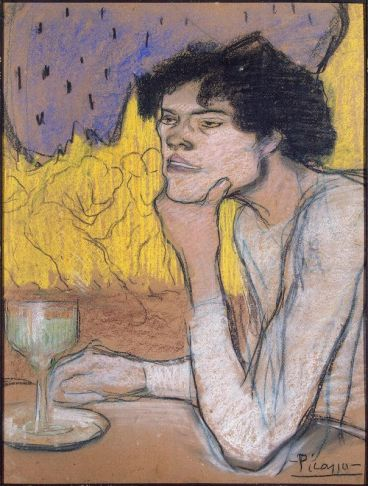 Picasso Pablo - Absinthe (Girl in a Cafe)