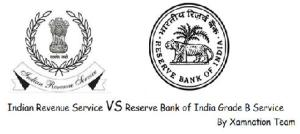 Job at RBI vs IRS