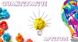 Quantitative aptitudepreparation for RBI Grade B