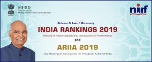 National Institutional Ranking Framework (NIRF) ranking