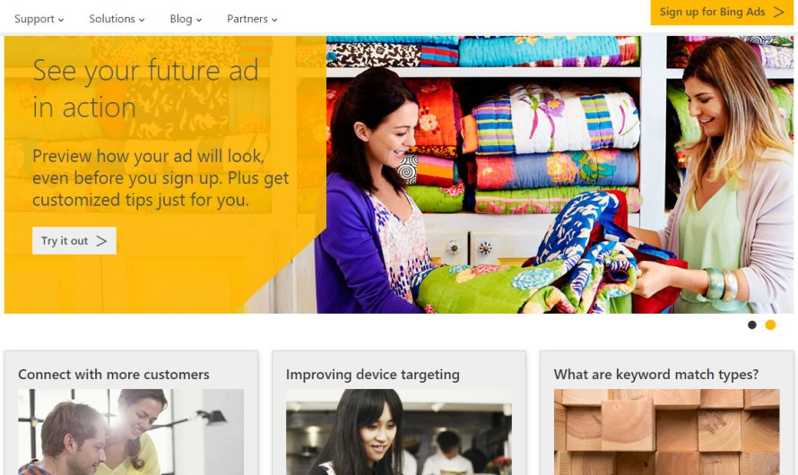 Bing Ads Change History Page Redesigned