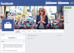Facebook Page event promotion