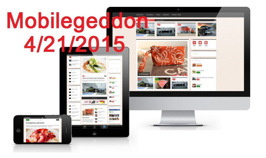 Have You Heard about Mobilegeddon?