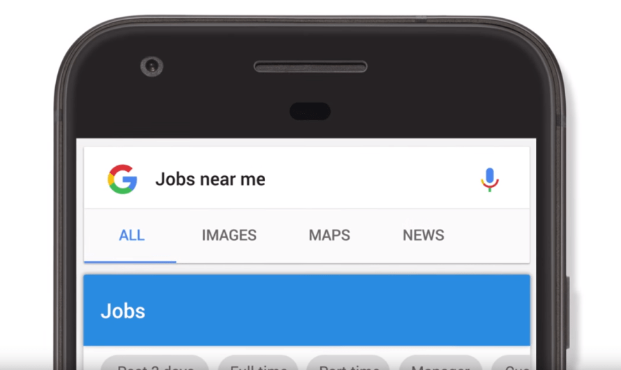 AI-Powered Google Jobs Search Feature Launches Right on the SERP