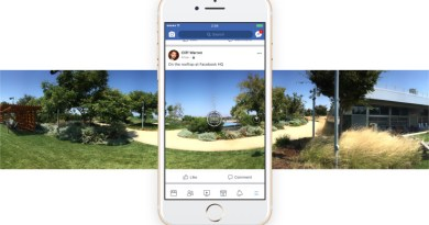Facebook Now lets Users Take a 360 Photo In-App and Set Them as Cover Photos