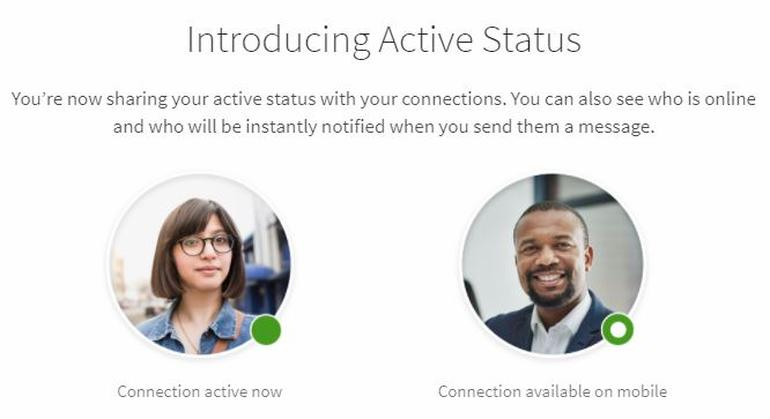 New LinkedIn Active Status Feature Quietly Added to Desktop and Mobile App