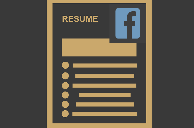 New Facebook Resume Feature Test Spotted