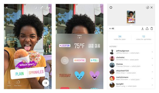 Instagram Stories Poll Stickers Roll Out
