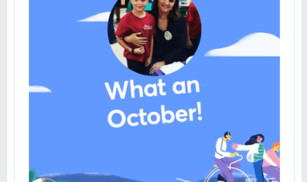Facebook October Moments video