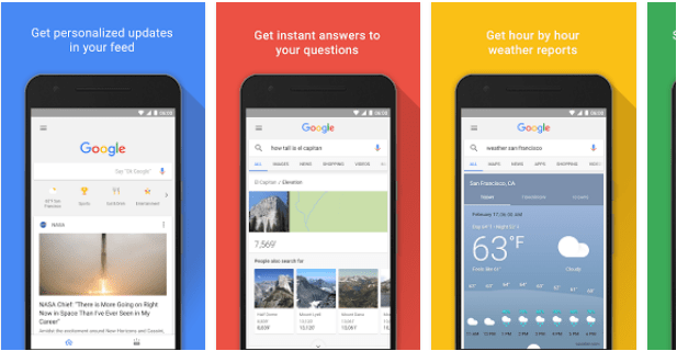 New Google App Feed UI Sports Rounded Cards, More Buttons