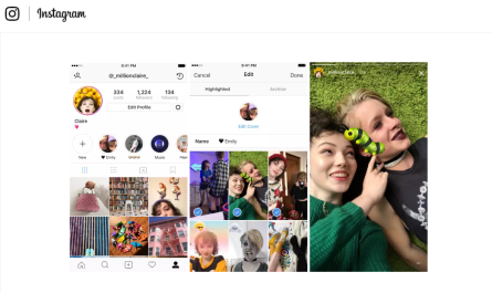 Instagram Stories Highlights and Archives